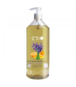 Shampooing & douche BIO orange & lavande - 1l - Ce'BIO