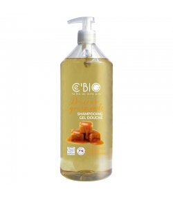Shampooing & douche BIO douceur gourmande - 1l - Ce'BIO