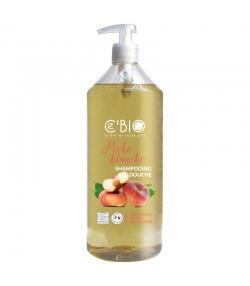 BIO-Shampoo & Duschgel weisser Pfirsich - 1l - Ce'BIO