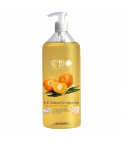 Bain & douche BIO mandarine & orange - 500ml - Ce'BIO