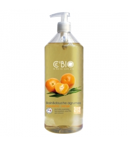 BIO-Bade- & Duschgel Mandarine & Orange - 500ml - Ce'BIO
