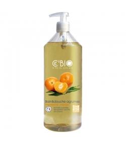 Bain & douche BIO mandarine & orange - 1l - Ce'BIO