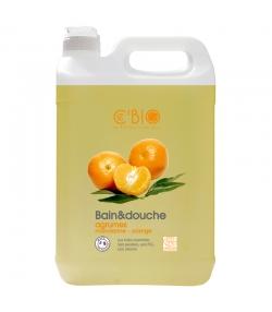 Bain & douche BIO mandarine & orange - 5l - Ce'BIO
