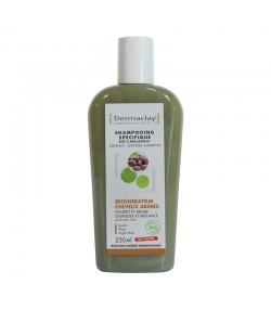 Shampooing régénérateur cheveux abîmés BIO argile verte & jojoba - 250ml - Dermaclay