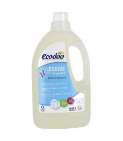 Lessive liquide écologique lavande – 48 lavages – 1,5l – Ecodoo