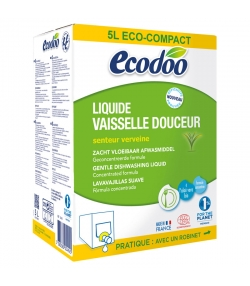 Ökologisches sanftes Geschirrspülmittel Verbene - 5l - Ecodoo