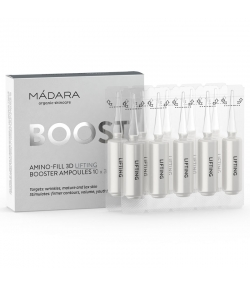 Booster ampoules lifting BIO - 10x3ml - Mádara Boost Amino Fill-3D