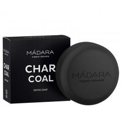 Savon nourrissant BIO charbon actif, iris & pin - 90g - Mádara Charcoal