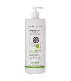 Shampooing familial BIO argile blanche & romarin - 1l - Dermaclay