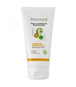 Gommage doux visage hydratant & lissant BIO pomme & argile jaune - 75ml - Dermaclay