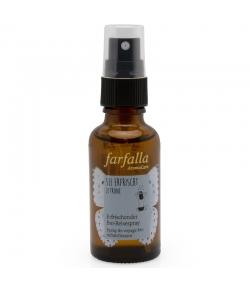 Spray de voyage rafraîchissant BIO citron - 30ml - Farfalla