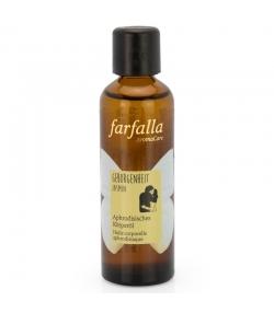 Huile corporelle aphrodisiaque BIO jasmin - 75ml - Farfalla