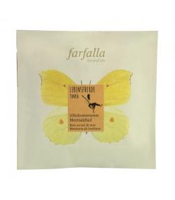 Bain au sel de mer moments de bonheur naturel tonka - 60g - Farfalla