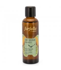 Bain moussant apaisant naturel fleur d'oranger - 75ml - Farfalla