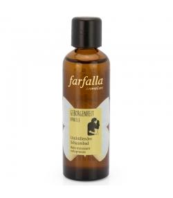 Umhüllendes natürliches Schaumbad Vanille - 75ml - Farfalla