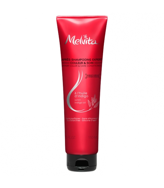 Après-shampooing expert couleur & soin naturel huile d'indigo - 150ml - Melvita