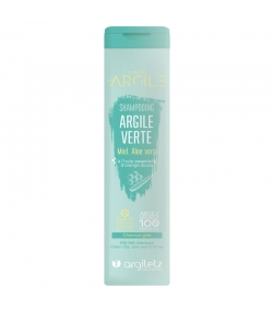 Shampooing argile verte BIO miel, aloe vera & orange - 200ml - Argiletz