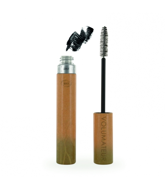 Mascara volumateur BIO N°1 Extra noir - 9ml - Couleur Caramel