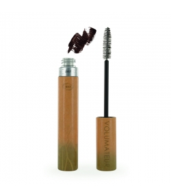 Mascara volumateur BIO N°2 Brun velours - 9ml - Couleur Caramel