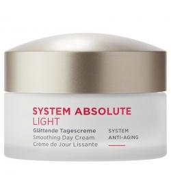 Crème de jour lissante light naturelle macadamia & algue verte - 50ml - Annemarie Börlind System Absolute