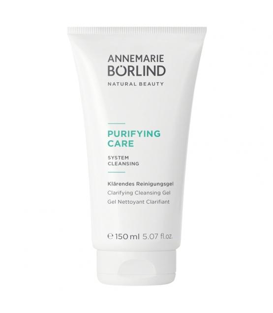 Gel nettoyant clarifiant BIO sauge & aloe vera - 150ml - Annemarie Börlind Purifying Care