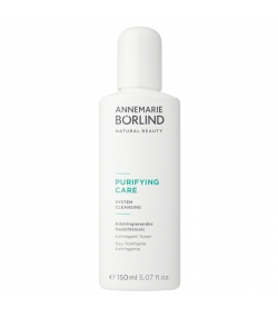 Eau tonifiante astringente BIO acide salicylique & achillée millefeuille - 150ml - Annemarie Börlind Purifying Care
