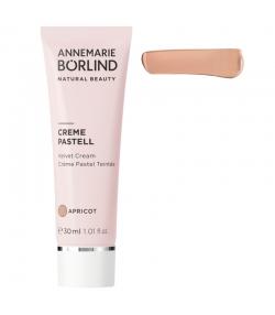 Crème pastel teintée BIO abricot - 30ml - Annemarie Börlind