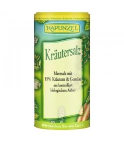 BIO-Kräutersalz mit 15% Kräutern & Gemüse - 125g - Rapunzel