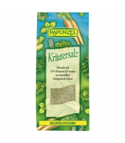 BIO-Kräutersalz mit 15% Kräutern & Gemüse - 500g - Rapunzel