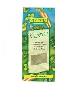Sel aux herbes contenant 15% d'herbes et de légumes BIO - 500g - Rapunzel