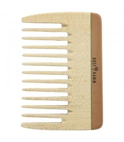Peigne mécheur en bois denture large - 1 pièce - Kost Kamm