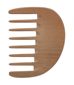 Afrikanischer Lockenkamm aus Holz, extra breite Zinken - 1 Stück - Kost Kamm