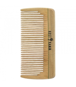 Mini-Taschenkamm aus Holz, feine Zinken - 1 Stück - Kost Kamm
