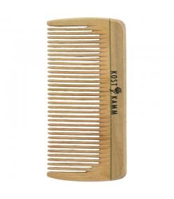 Mini-peigne de poche en bois denture fine - 1 pièce - Kost Kamm