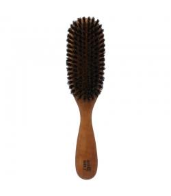 Haarbürste aus Birne gewachst mit Wildschweinborsten - 1 Stück - Kost Kamm