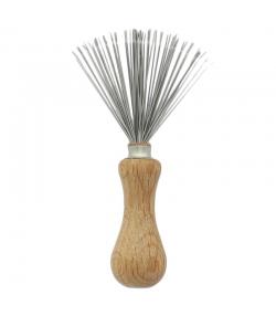 Outil pour retirer les cheveux sur les peignes & brosses en hêtre & poils métalliques - 1 pièce - Kost Kamm
