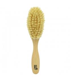 Vegane Haarbürste aus Buche mit Sisalborsten - 1 Stück - Kost Kamm