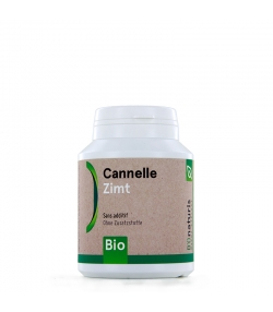 Cannelle BIO 250 mg 180 gélules - BIOnaturis