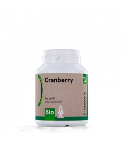 Cranberry BIO 250 mg 120 gélules - BIOnaturis