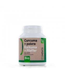 BIO-Kurkuma + BIO-Pfeffer 260 mg 180 Kapseln - BIOnaturis