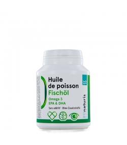 Huile de poisson 500 mg 120 capsules - BIOnaturis