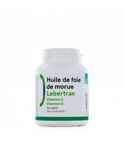 Lebertran 165 mg 200 Kapseln - BIOnaturis