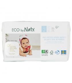 Ökowindeln & Biowindeln Grösse 2 Mini 3-6 kg - 1 Paket mit 33 Stück - Naty