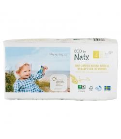 Couches & langes jetables écologiques Taille 4 Maxi 7-18 kg - 1 sac de 44 pièces - Naty