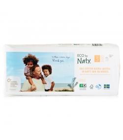 Couches & langes jetables écologiques Taille 5 Junior 11-25 kg - 1 sac de 40 pièces - Naty