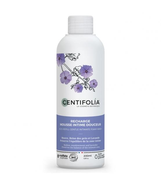 Nachfüllung BIO-Intim-Waschschaum Malve, Mädesüss & Lavendel - 200ml - Centifolia