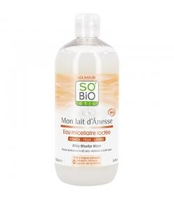 Eau micellaire lactée BIO lait d'ânesse - 500ml - SO'BiO étic