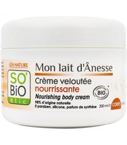 Crème corps nourrissante BIO lait d'ânesse - 200ml - SO'BiO étic