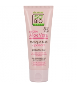 Masque SOS apaisant BIO aloe vera & bisabolol - 50ml - SO'BiO étic