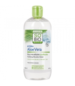 Eau micellaire purifiante BIO aloe vera & citrus - 500ml - SO'BiO étic